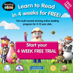 Reading Eggs 4 weeks free trial