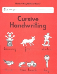 Handwriting without Tears cursive