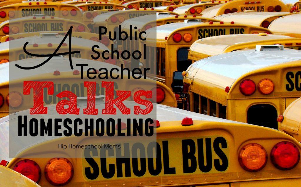 A public school teacher Talks homeschooling