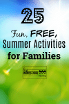 Fun and free summer activities for families!