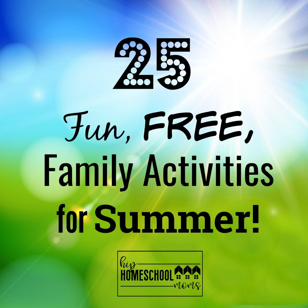 Great free summer activities for your family!