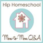 Hip Homeschool Moms Button