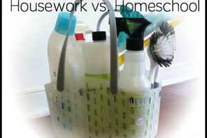 Housework VS. Homeschool