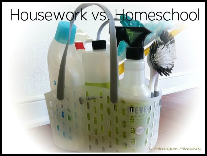 Housework VS. Homeschool