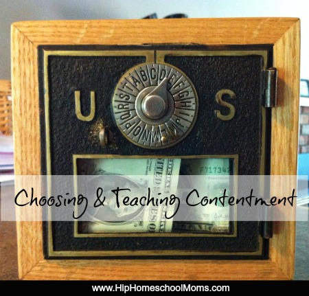 Teaching and Choosing Contentment