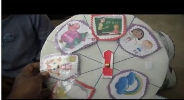 preschool storywheel