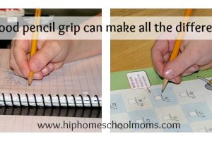 A Good Pencil Grip Can Make All The Difference
