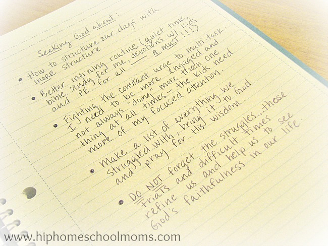 Dear Warrior Homeschool Mom