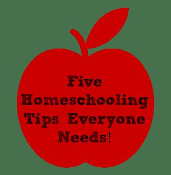 5 homeschooling tips everyone needs