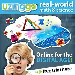HHM Uzinggo_BannerAd_Real-World_Online_Math+Science_250x250