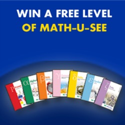 Math-U-See Win a Free Level