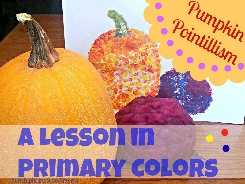 Pumpkin Pointillism