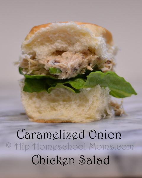 how to make chicken salad finger sandwiches
