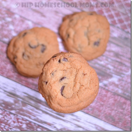 Jumbo Crisp Chocolate Chip Cookies