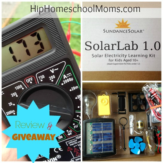 Edmund Scientific Solar Lab Review and Giveaway
