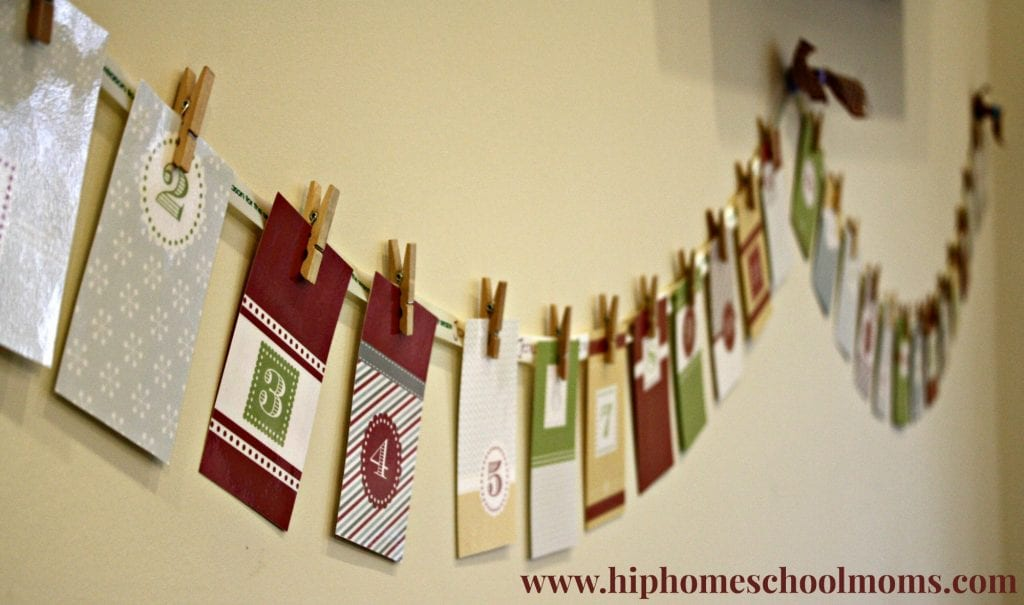 Printable Advent Activities Calendar