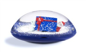 HHM Teen Girl Snow Globe Gift Card Holder