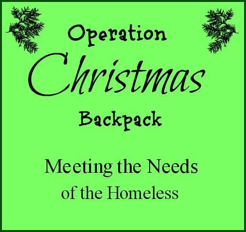 Operation Christmas Backpack Pinnable Image