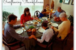 Overflowing Thankfulness