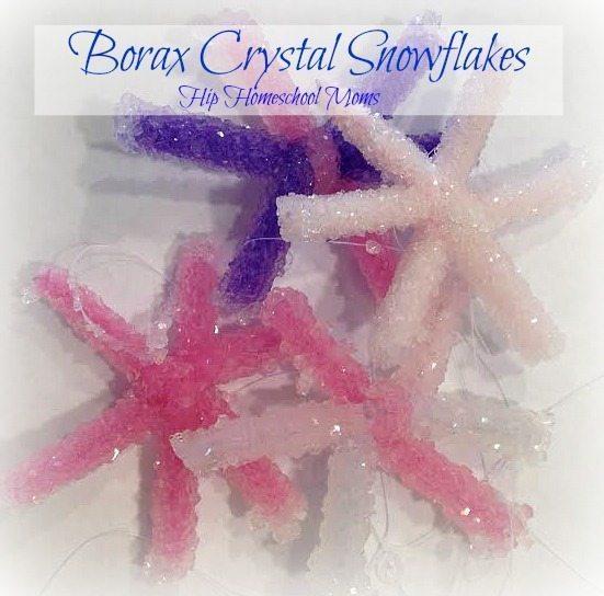 HHM Borax Crystal Snowflakes Pinnable Image