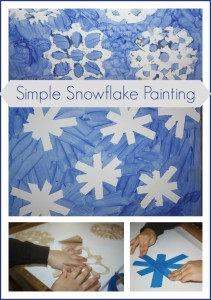 snowflake-painting-activity
