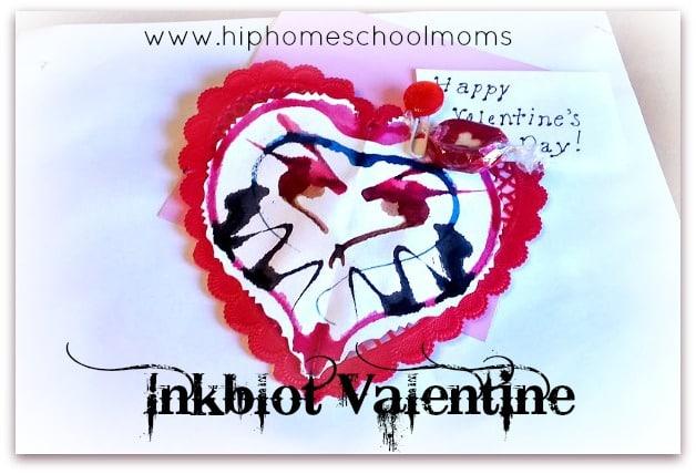 Inkblot Valentines