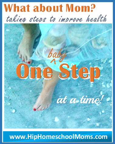 baby steps towards improved health