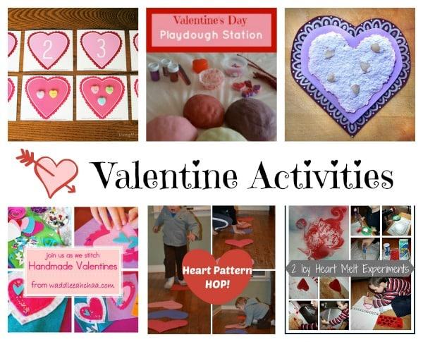 Valentines activities