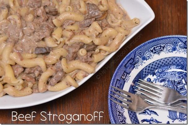 Beef Stroganoff - large