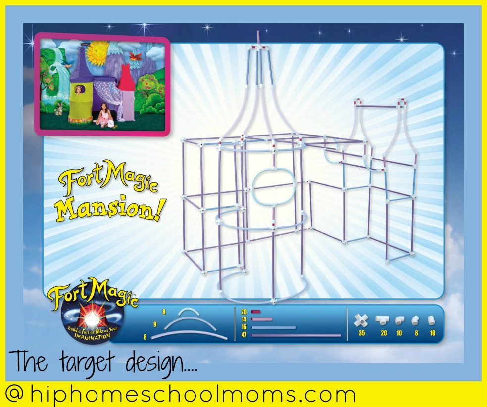 Build a mansion with Fort Magic!