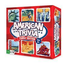 American Trivia Board Game
