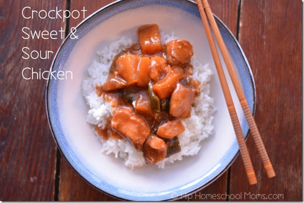 Crockpot Sweet and Sour Chicken 1