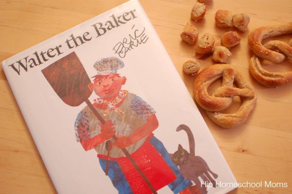 Eric Carle Walter the Baker pretzels