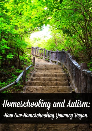 Homeschooling and Autism Pinnable Image