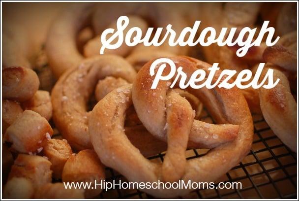 soft sourdough pretzel recipe