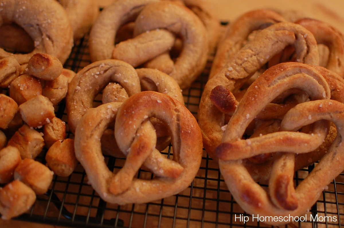 soft pretzels ready to eat