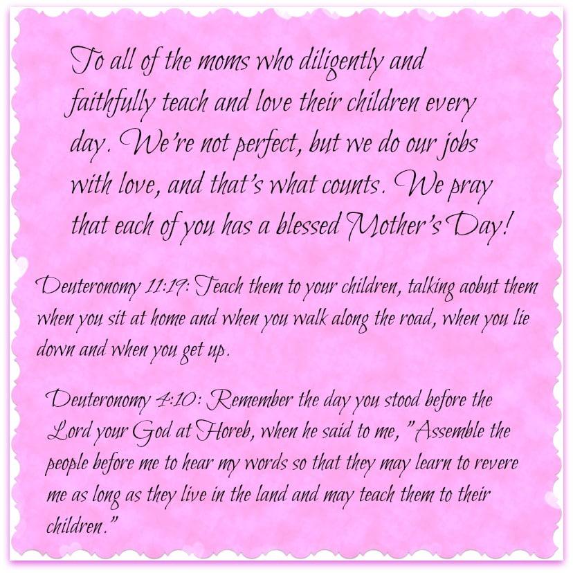 Happy Mother\'s Day from Hip Homeschool Moms! | Hip Homeschool Moms