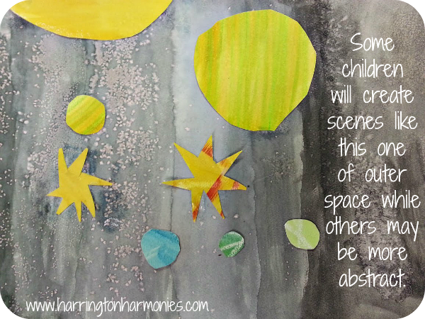 You can make collage and create any number of scenes with these watercolor collages. | Hip Homeschool Moms