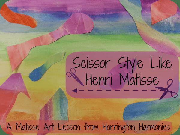 Art lesson on Henri Matisse