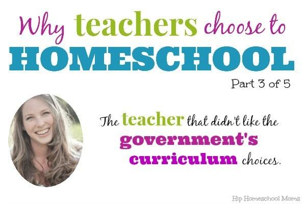 Why Teachers Homeschool Taryn