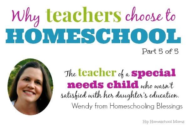 Why Teachers Homeschool