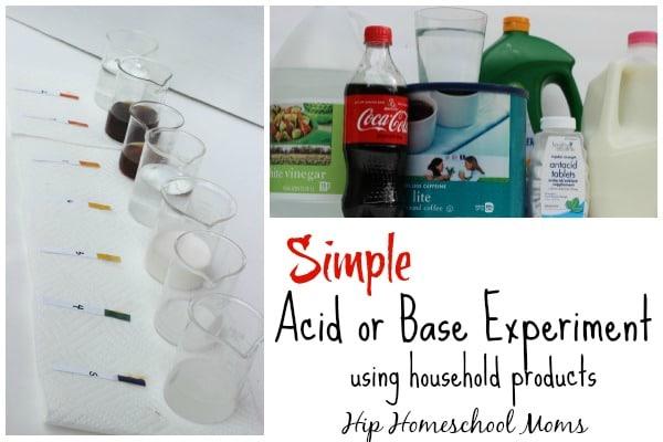 acid or base experiment