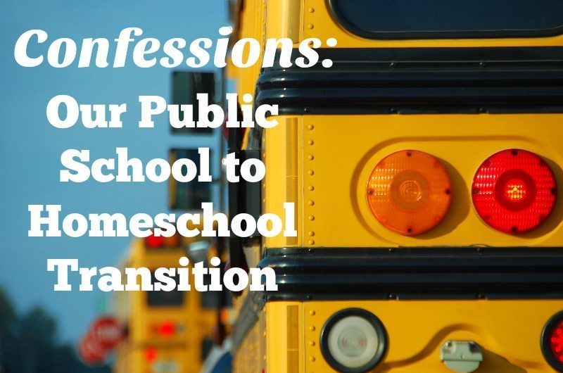 Our Public School to Homeschool Transition |Hip Homeschool Moms