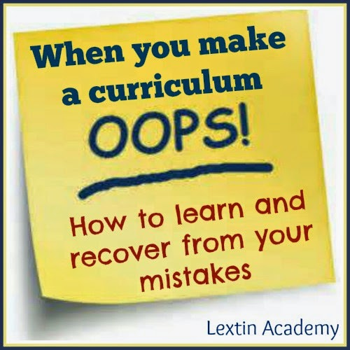 Curriculum oops