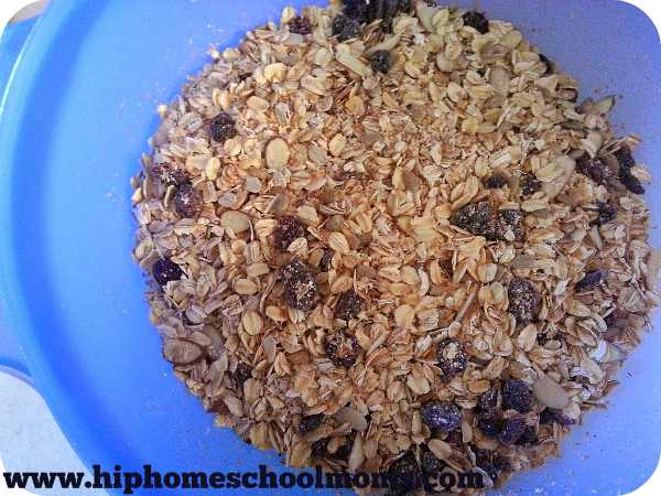 Homemade Meusli Mixed | Hip Homeschool MOms