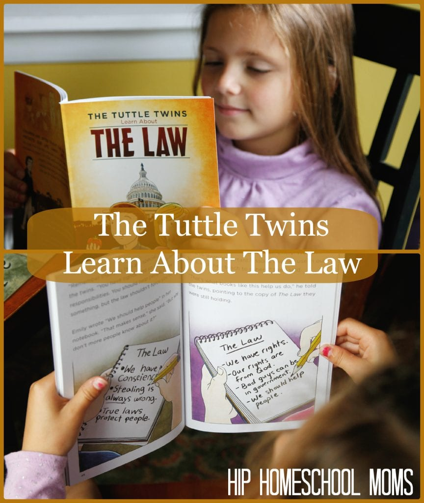 The Tuttle Twins Learn About The Law from Hip Homeschool Moms