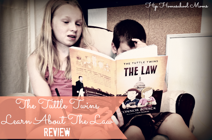 The Tuttle Twins Learn About the Law Review