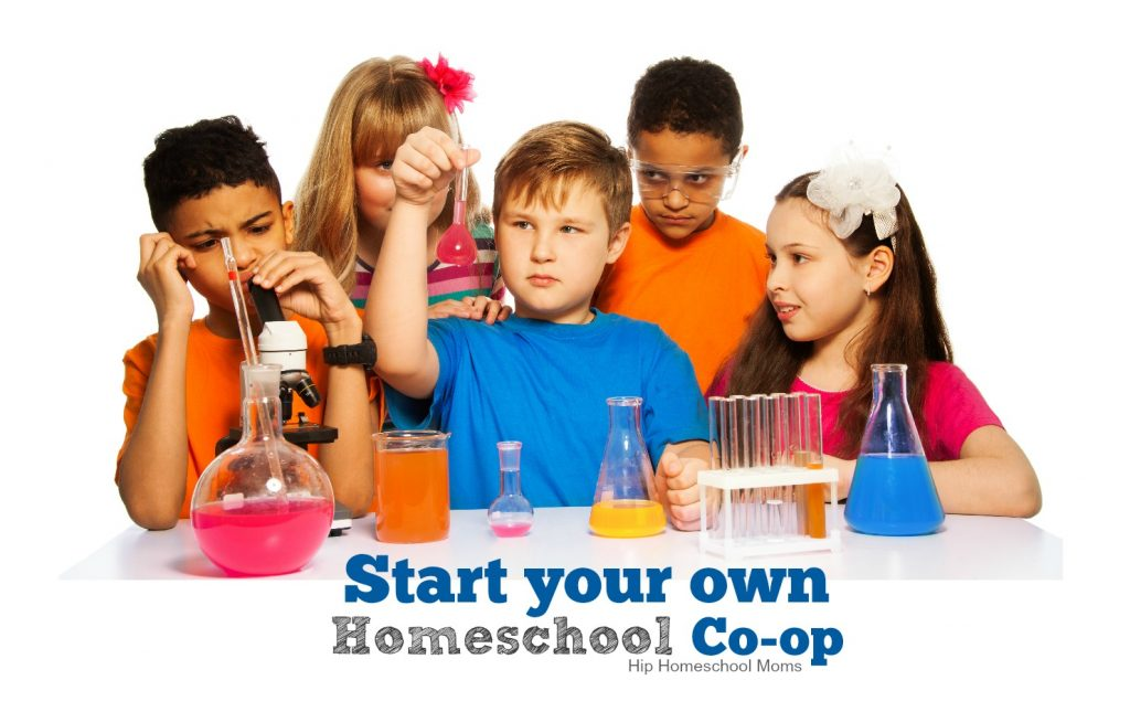 start your own homeschool co-op