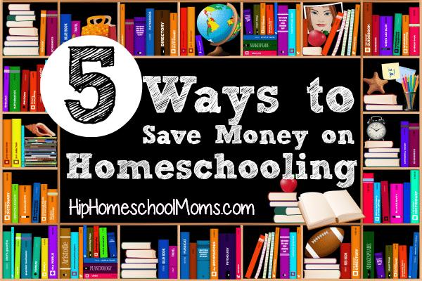 5 Ways to Save Money on Homeschooling