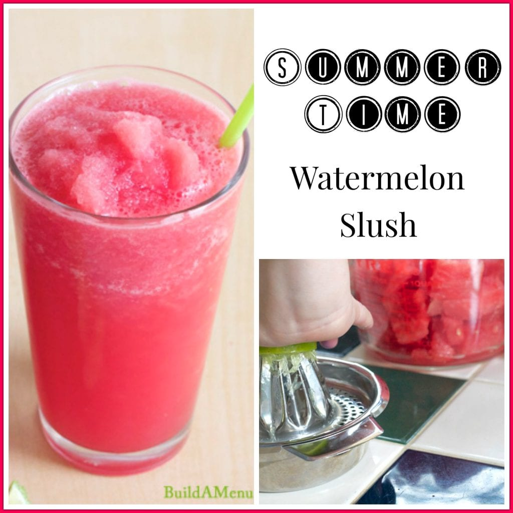 Summertime Watermelon Slush Pinnable Image